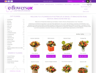 e-flowersuk.co.uk screenshot