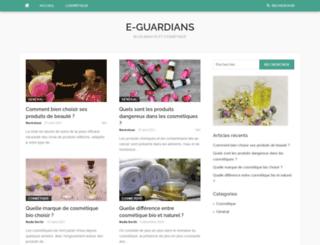e-guardians.fr screenshot