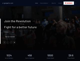 e-gunparts.com screenshot