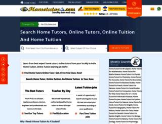 e-hometutors.com screenshot