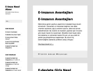 e-imzanasilalinir.com screenshot