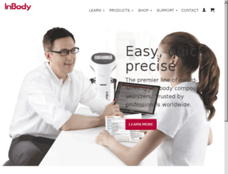 e-inbody.com screenshot