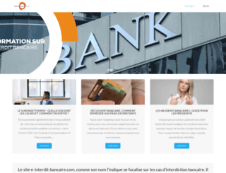 e-interdit-bancaire.com screenshot