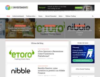 e-investimenti.com screenshot