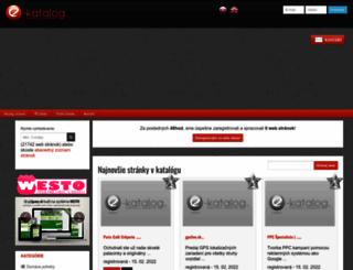 e-katalog.sk screenshot
