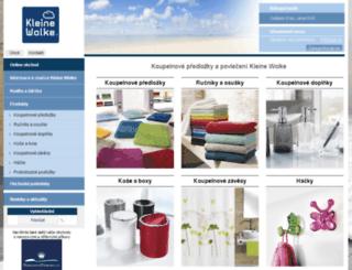 e-kleinewolke.cz screenshot