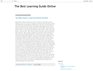 e-learning-guide.blogspot.com screenshot