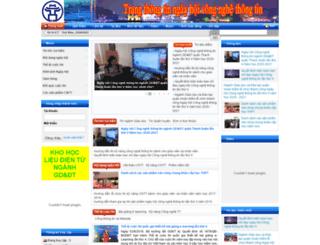 e-learning.hanoiedu.vn screenshot