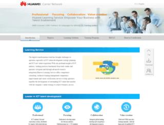 e-learning.huawei.com screenshot