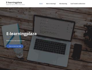 e-learningplaza.nl screenshot