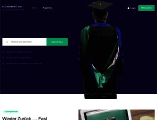 e-lernzentrum.de screenshot