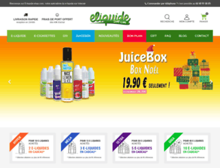 e-liquide-shop.com screenshot