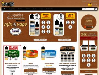 e-liquide.fr screenshot