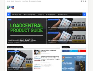 e-loadbiz.blogspot.com screenshot