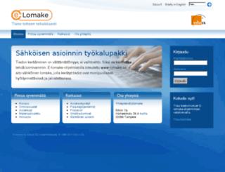 e-lomake.net screenshot
