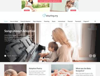 e-magazine.adoption.com screenshot