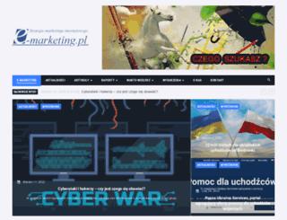 e-marketing.pl screenshot