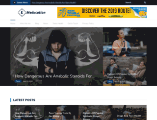 e-meducation.org screenshot