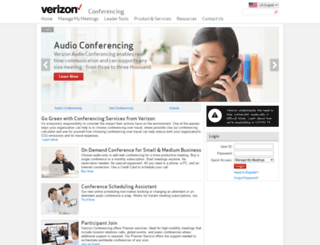 e-meetings.verizonbusiness.com screenshot