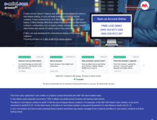 e-mini.com screenshot