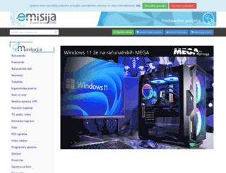 e-misija.si screenshot