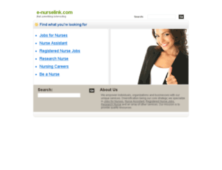 e-nurselink.com screenshot