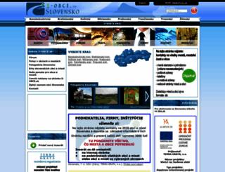 e-obce.sk screenshot