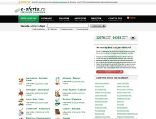 e-oferta.ro screenshot