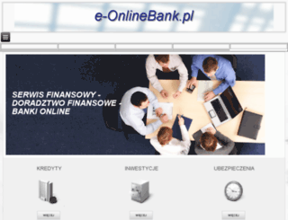 e-onlinebank.pl screenshot