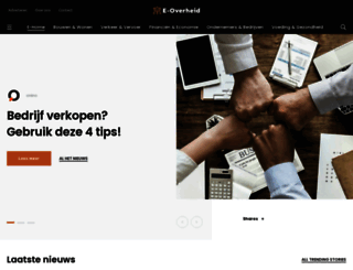 e-overheid.nl screenshot