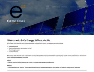 e-oz.com.au screenshot