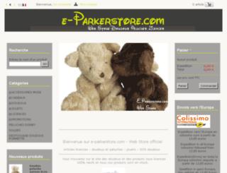 e-parkerstore.com screenshot