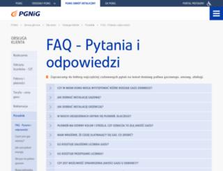 e-pasaz.pgnig.pl screenshot