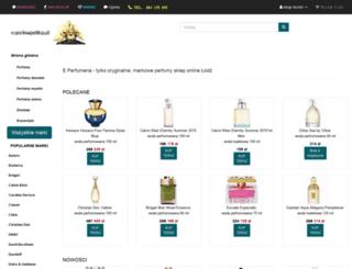 e-perfumy.sklep.pl screenshot