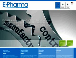 e-pharmatrento.com screenshot