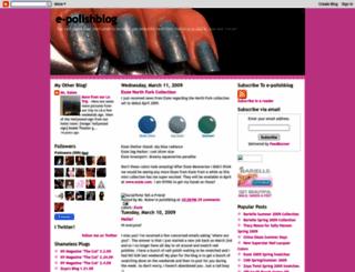 e-polishblog.blogspot.com screenshot