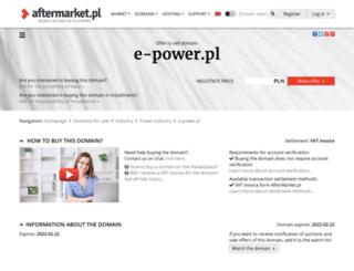 e-power.pl screenshot
