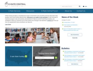 e-ratecentral.com screenshot