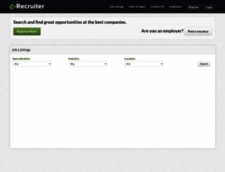 e-recruiter.ng screenshot