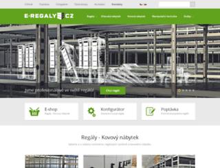 e-regaly.cz screenshot