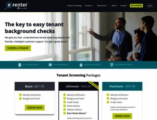 e-renter.com screenshot