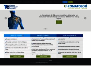 e-romatoloji.org screenshot