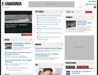 e-samarinda.com screenshot