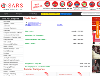 e-sars.com screenshot