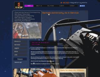 e-scop.org screenshot