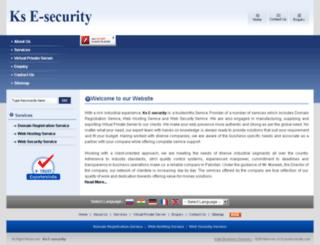 e-security.biz screenshot