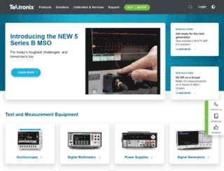 e-sites2.tek.com screenshot