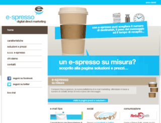 e-spresso.net screenshot