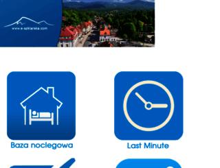 e-szklarska.com screenshot