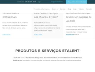 e-talent.com.br screenshot